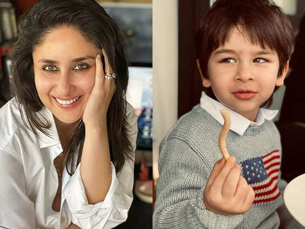 Kareena Kapoor Khan proves that Taimur is a true-blue Kapoor as he's a major-foodie