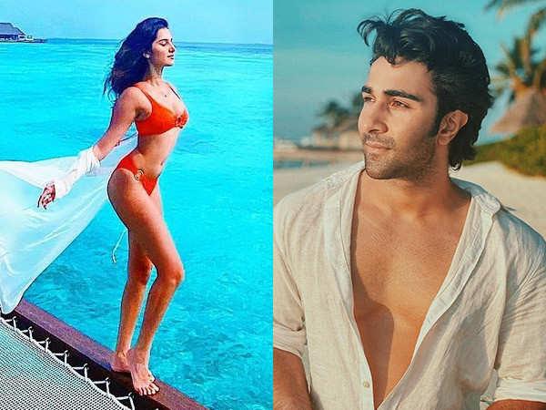 Tara Sutaria and Aadar Jain are killing it in the Maldives
