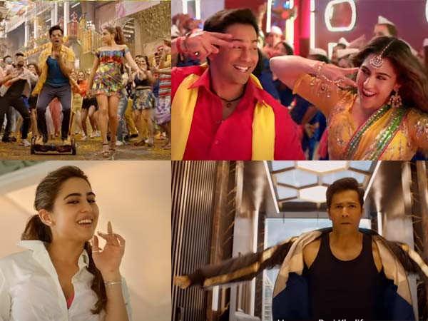 Watch Varun Dhawan and Sara Ali Khan's Coolie No 1 trailer