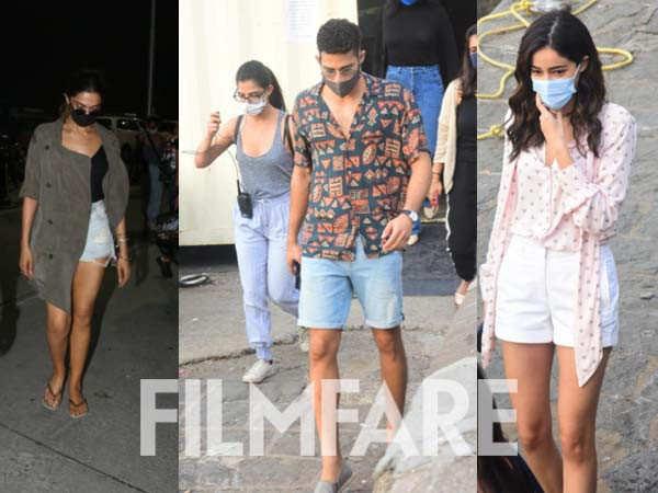 Deepika Padukone, Siddhant Chaturvedi, Ananya Panday shoot in Alibaug