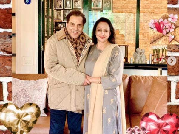 Hema Malini and Dharmendra become grandparents to twins