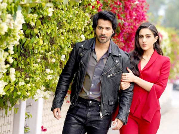 Varun Dhawan and Sara Ali Khan talk about the experience of working in Coolie No.1
