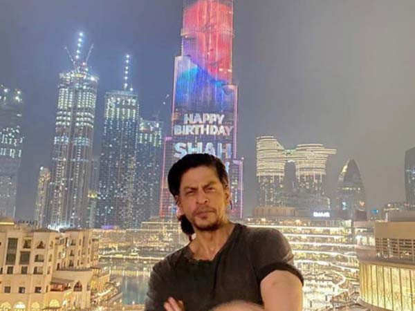 Burj Khalifa Lights Up To Celebrate Shah Rukh Khan's Birthday