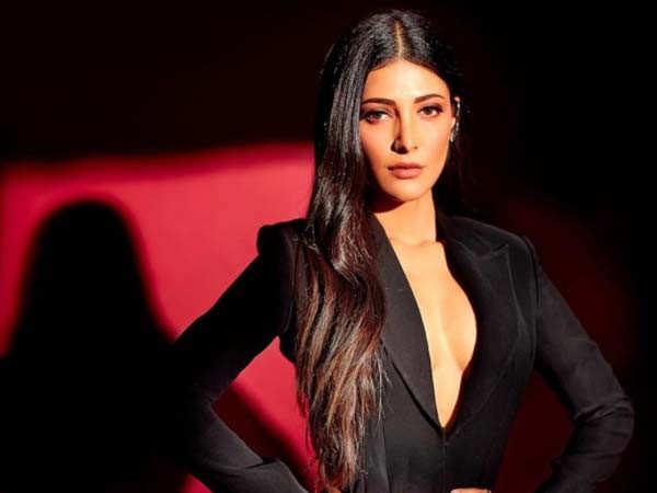 Shruti Haasan shares a picture of her healthy breakfast