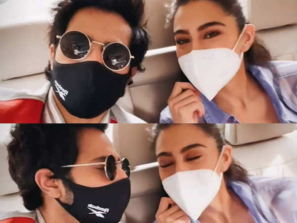 Varun Dhawan and Sara Ali Khan Gear Up For Coolie No.1's Trailer Release