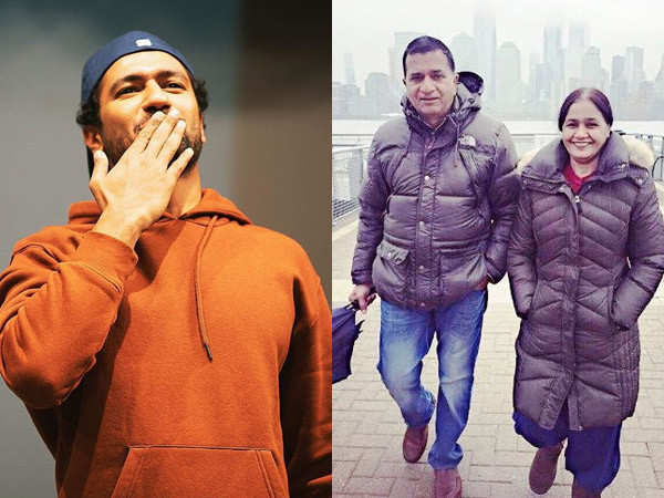 Vicky Kaushal posts an adorable picture with his mother on the latter's birthday