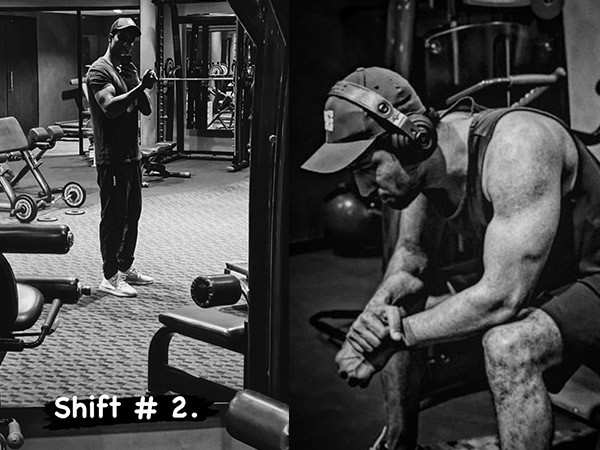 Vicky Kaushal flaunts his beast avatar as he works-out in a gym