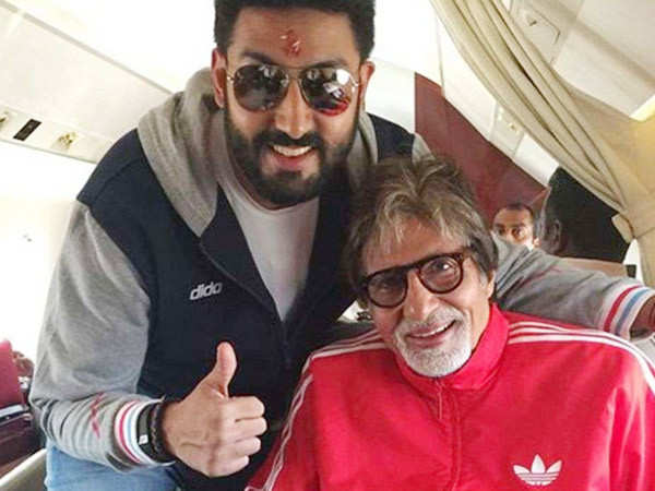 Abhishek Bachchan reacts to rumours of Amitabh Bachchan being hospitalised