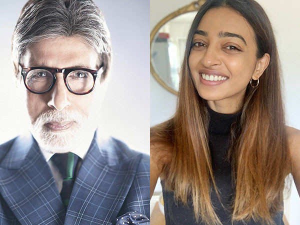 Amitabh Bachchan, Radhika Apte in the screen adaptation of Shantaram