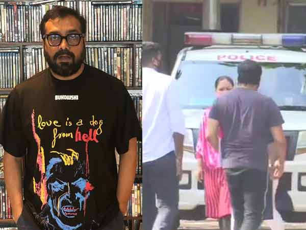 Spotted: Anurag Kashyap arrives for questioning in Mumbai