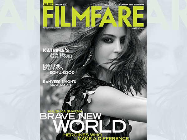 Anushka Sharma graces the October cover of Filmfare
