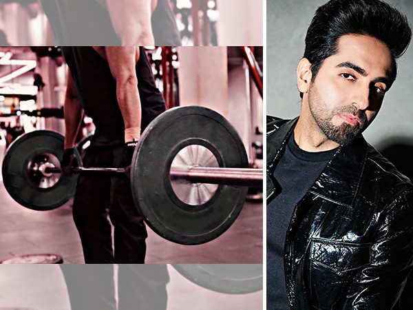 Ayushmann Khurrana works out hard to transform into a beefy avatar for his next film