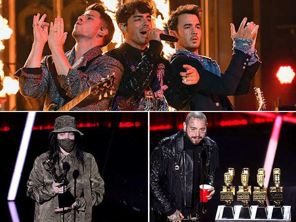 Billboard Music Awards 2020: Jonas Brothers, Post Malone win big