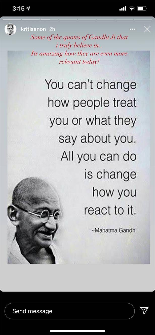 Bollywood Mahatma Gandhi
