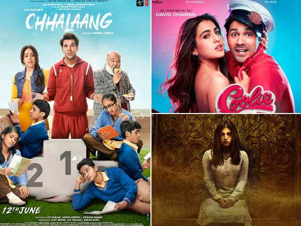 Coolie No.1, Chhalaang and Durgavati all set for an OTT release