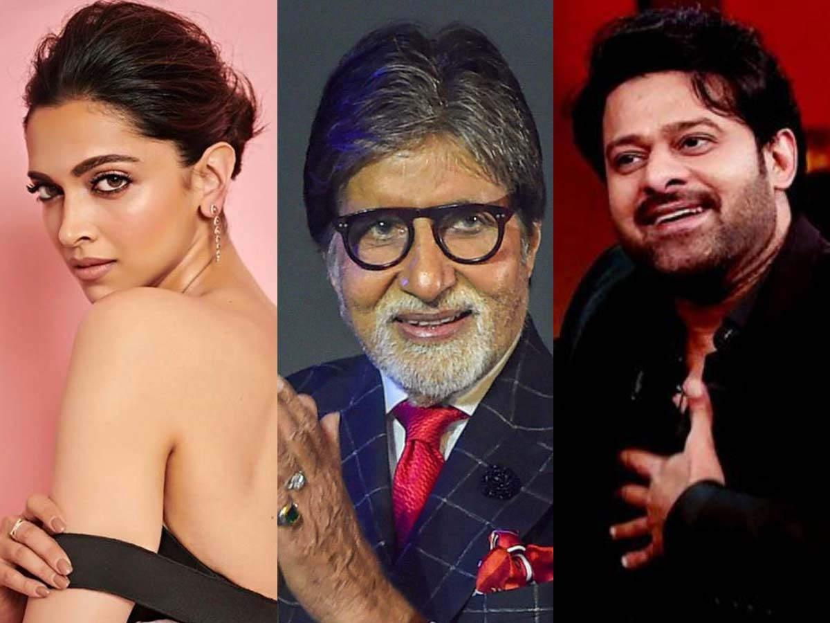 Deepika Padukone Prabhas Amitabh Bachchan