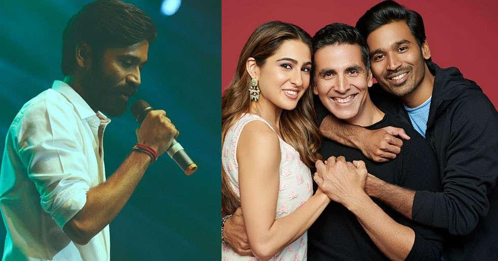 Dhanush sings for AR Rahman for his next Hindi outing Atrangi Re