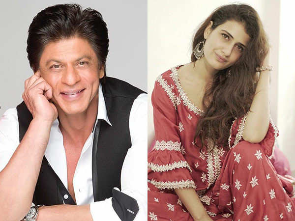 Fatima Sana Shaikh calls herself a sleazy SRK fan