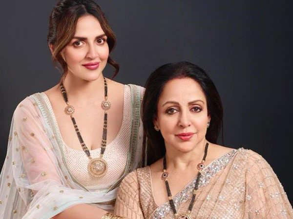Esha Deol Wishes Hema Malini On her Birthday With A Sweet Message