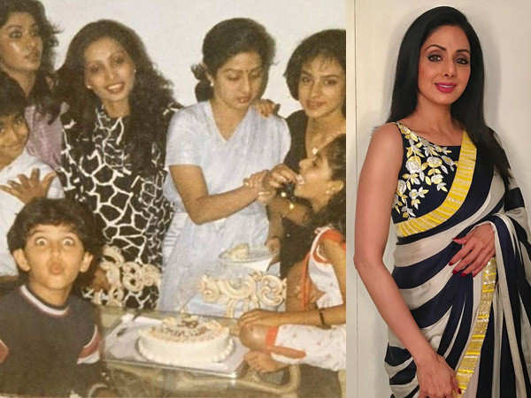 This Throwback Picture Of Hrithik Roshan And Late Sridevi Is Unmissable