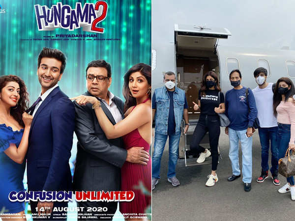 Team Hungama 2 leaves for Manali to resume shooting for the project