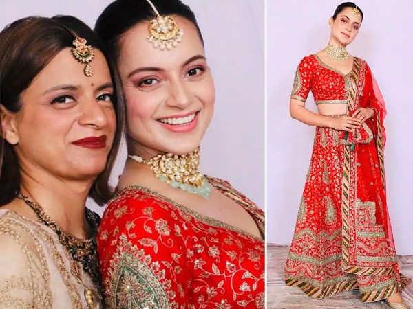 Kangana Ranaut shares pictures from cousin Karan wedding ceremony