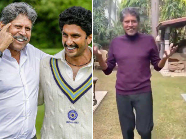 Kapil Dev gives an update about '83 as well as his health