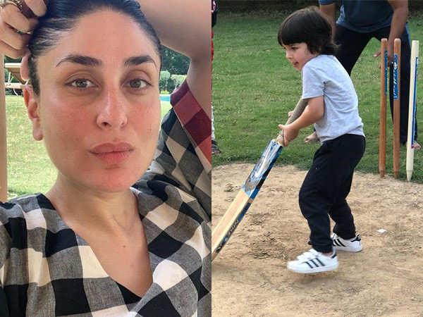 Hilarious! Kareena Kapoor Khan asks if Taimur Ali Khan can play in the IPL