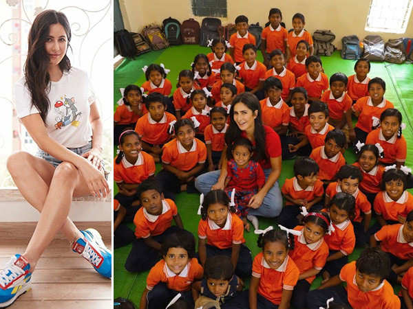 Katrina Kaif's golden mission to educate girls and bring equality in education