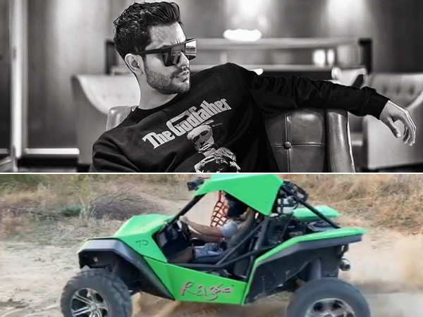 This video of Kunal Kemmu driving a dune buggy is awesome