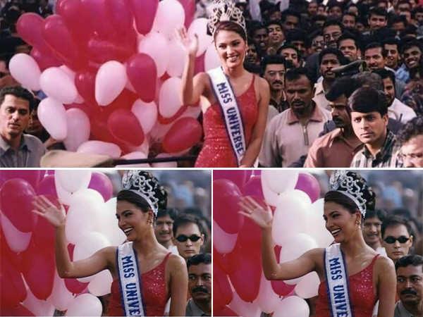 Lara Dutta recalls her homecoming post winning the title of Miss Universe