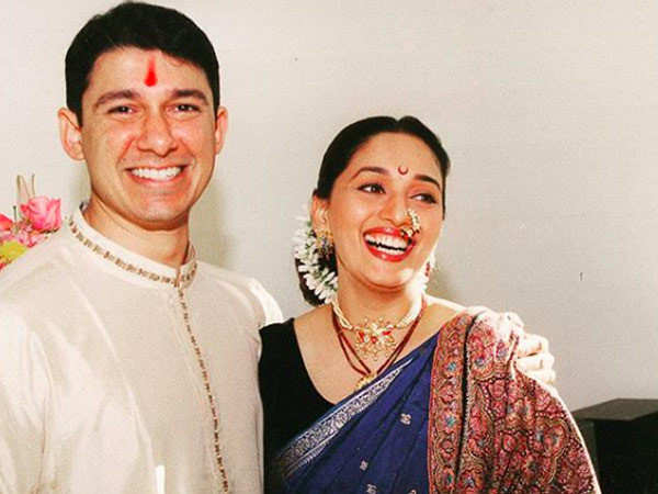 Madhuri Dixit's sweet message to husband Sriram Nene on their 21st anniversary