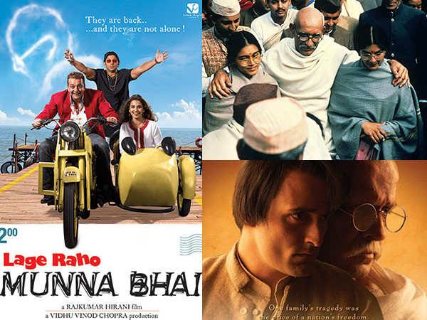 Movies revolving around Mahatma Gandhi