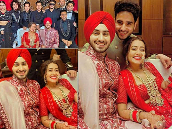All Pictures and Videos From Neha Kakkar and Rohanpreet Singh's Wedding