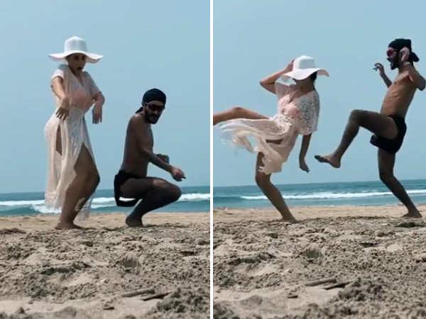 Nora Fatehi looks stunning in beachwear in her latest video