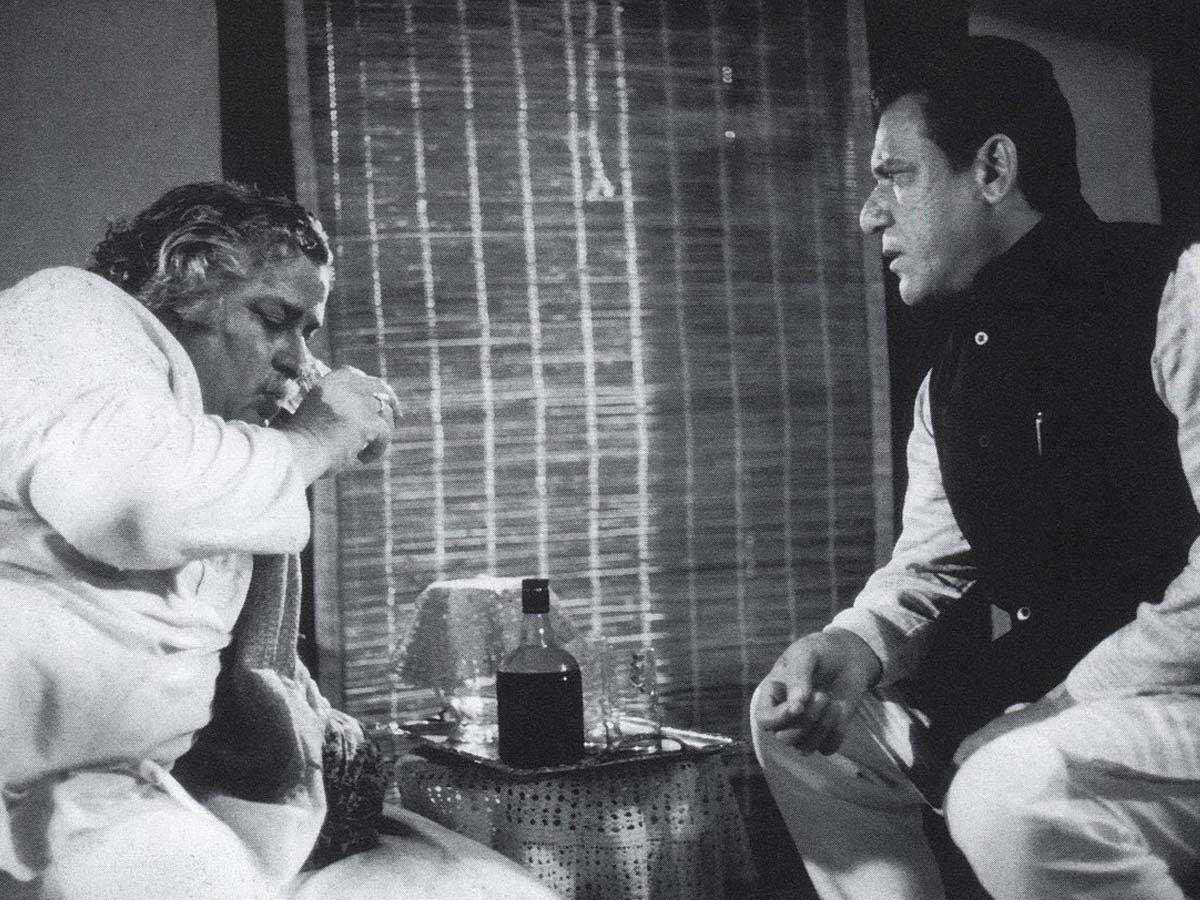 Om Puri, Movies