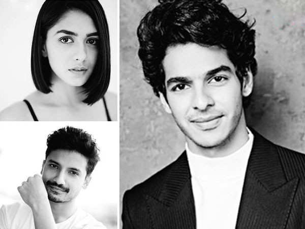 Ishaan Khatter welcomes Mrunal Thakur to the team of Pippa