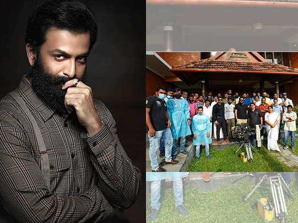After being tested COVID negative, Prithviraj Sukumaran to shoot for Cold Case