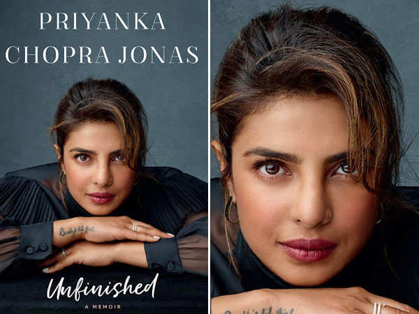 Priyanka Chopra Jonas unveils the cover of her memoir