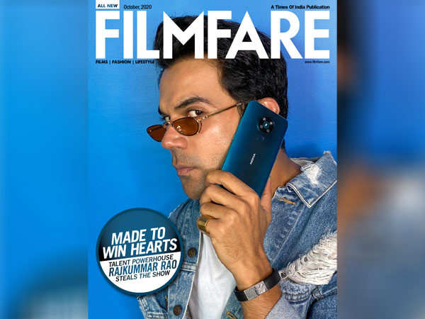 Nokia 5.3 plays the perfect arm candy for Rajkummar Rao on our October digital cover