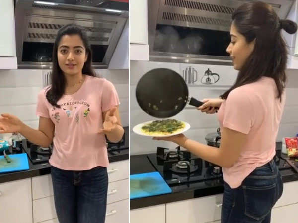 Rashmika Mandanna shares her go to breakfast recipe