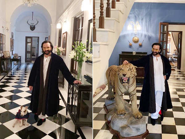 Saif Ali Khan Talks About His Pataudi Palace, Taimur Enjoys His Time There