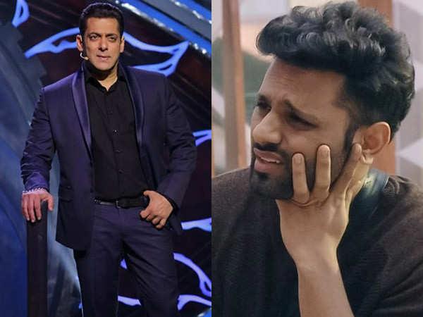 Salman Khan fires Rahul Vaidya for bringing up nepotism on Bigg Boss