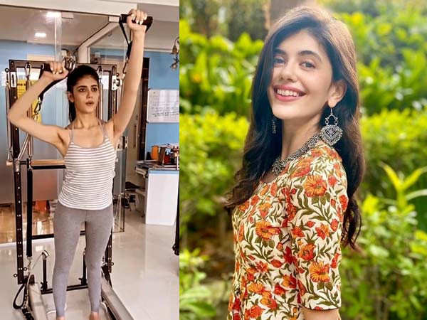 Sanjana Sanghi's holy mixtures of workout is inspirational