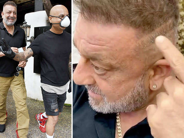 Sanjay Dutt shows off his scar post treatment and says he will beat Cancer