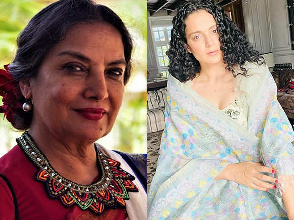 Shabana Azmi has the perfect reply to Kangana Ranaut's all claims against Bollywood