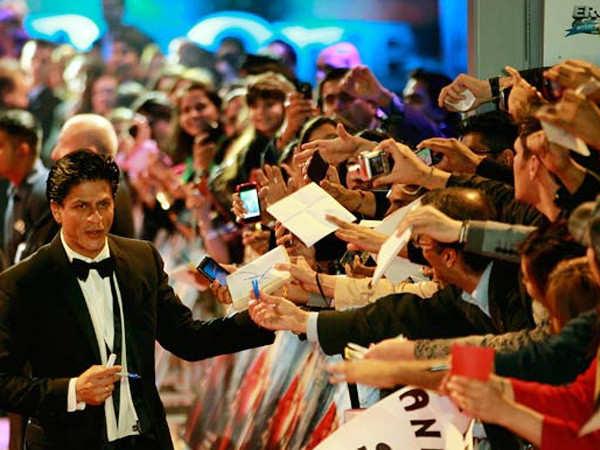 Shah Rukh Khan says he'll return to the big screen in a year