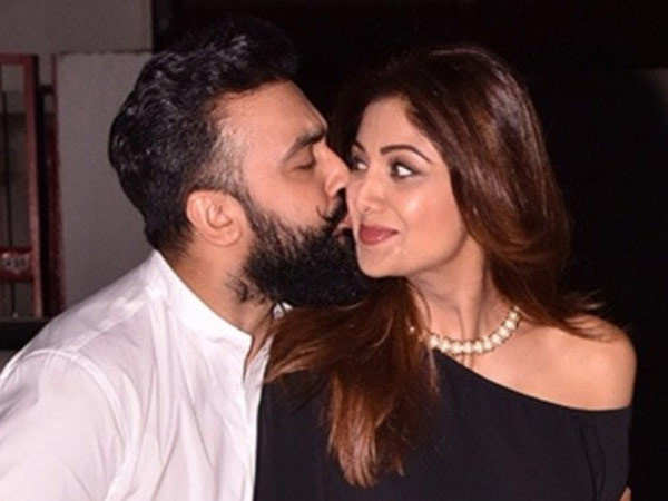 Shilpa Shetty gets pampered at home by Raj Kundra