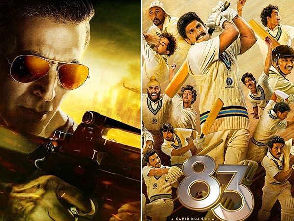 Ranveer Singh's '83 to release on Christmas, Akshay Kumar's Sooryavanshi pushed to 2021