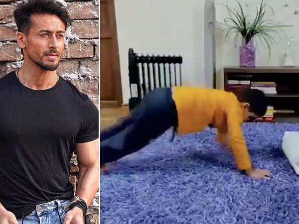 Tiger Shroff's reply to a young fan proves he's the perfect role model for kids